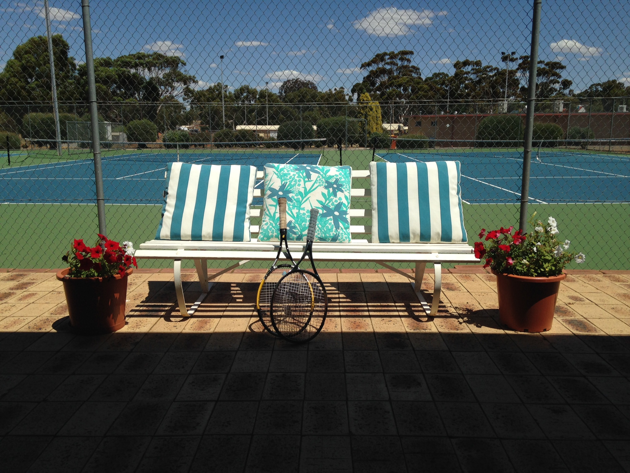 Tennis club chair