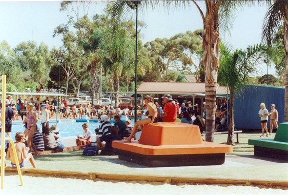 Historical Photos of Quairading - 1990s School Swimming Carnival