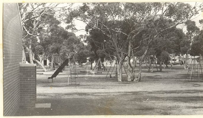 Historical Photos of Quairading - The old School Playground