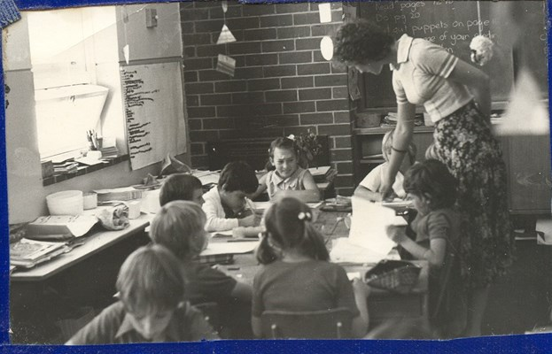 Historical Photos of Quairading - 1977 Year 2,3 class