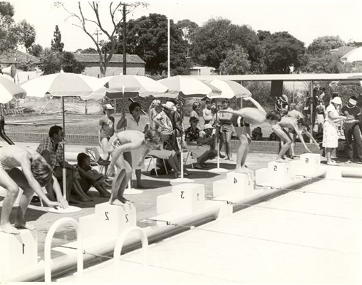 Historical Photos of Quairading - 1980s School Swimming Carnival