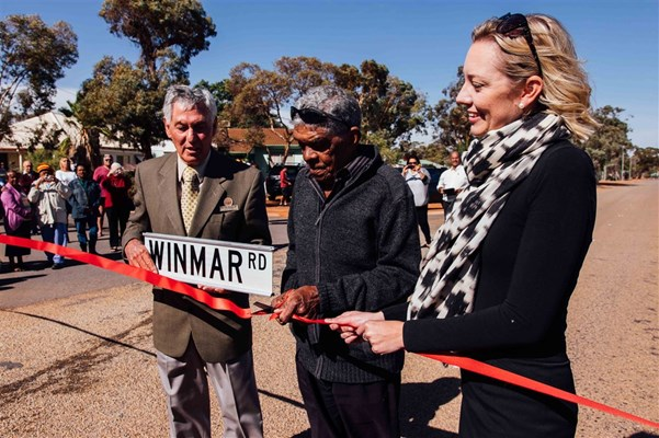 Winmar Road - Cutting the Ribbon
