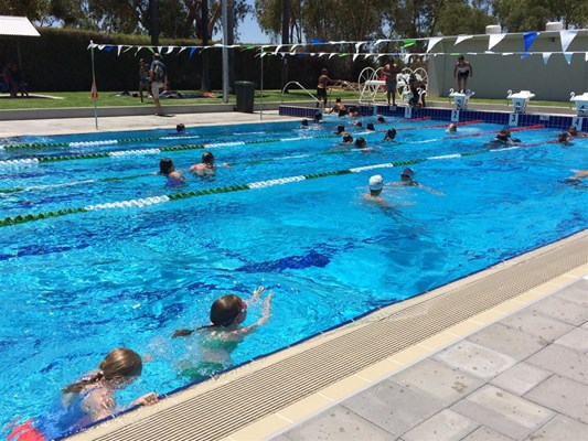 Quairading Swimming Pool Opening - February 2017
